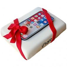 Торт с телефоном айфоном