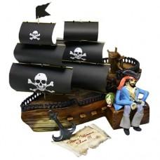 Торт «Пиратский корабль»