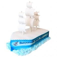 Торт «Белеет парус»
