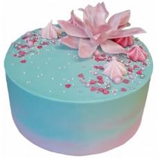 Торт «Морской цветок»