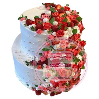 Торт «Клубничная сказка»