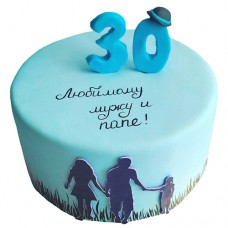 Торт на 30 лет для мужа