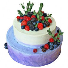 Торт «Свадьба в лесу»