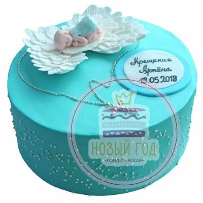 Торт на крестины «Ангелочек»