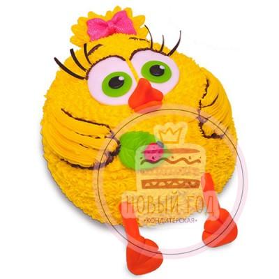 Торт «Цыпленок» из крема