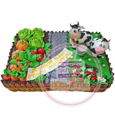 Торт «Деревня»