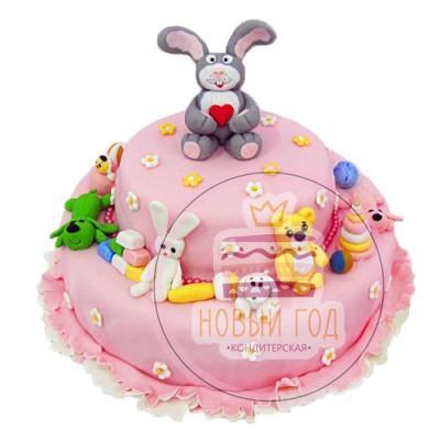 Торт «Любимые игрушки»