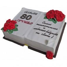 Торт на 80 лет для бабушки
