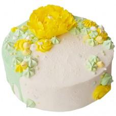 Торт с пионом «Двойное наслаждение»
