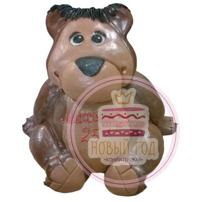 3Д торт в виде медведя