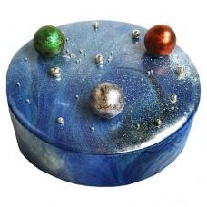 Кремовый, космический торт