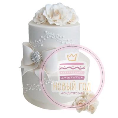 Торт «Свадебное платье»