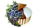 Торт «Рожок с голубикой»