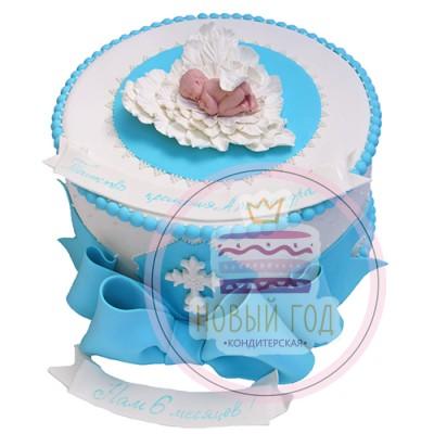 Торт «Таинство крещения»