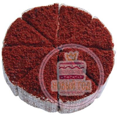 Торт «Красный бархат», 1120 грамм