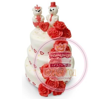 Торт «Белые медведи»