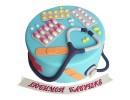 Торт на день рождения врача