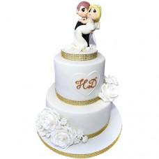 Свадебный торт «Унесенные ветром»
