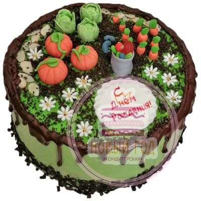 Торт «Грядки»