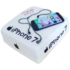 Торт с айфоном 7