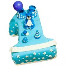 Торт на 1 годик для мальчика