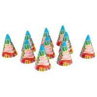 Колпак цветной «День рождения»