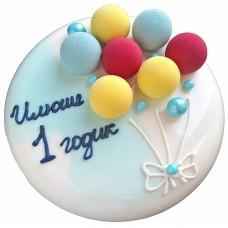 Зеркальный торт на 1 год