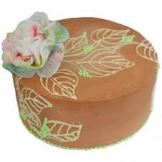 Торт с пионом на 8 марта