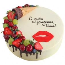 Торт «Поцелуй на губах»