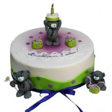 Торт «Плюшевые мишки»