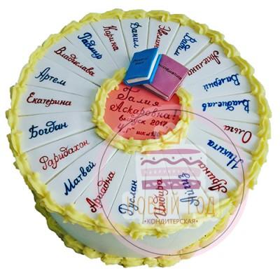 Торт «Выпускной в 4 классе»