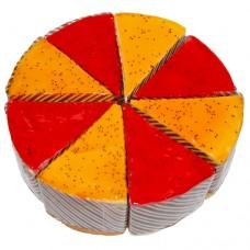 Пирожное ассорти «Суфле маракуйя + малина»
