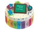 Торт «Малыши-карандаши»