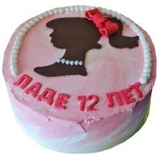 Торт на 12 лет для девочки
