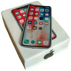 Торт в виде айфона 10