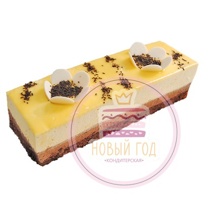 Торт нарезной «Цитрусовый делис»