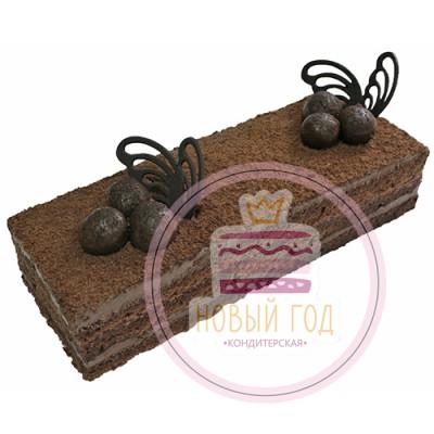 Торт нарезной «Малиновый трюфель»