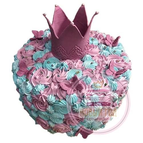 Красивая корона принцессы - купить по цене 4560 руб с доставкой | 500x500