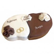 Торт «Инь и ян»