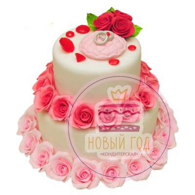 Торт «Дворец бракосочетаний»