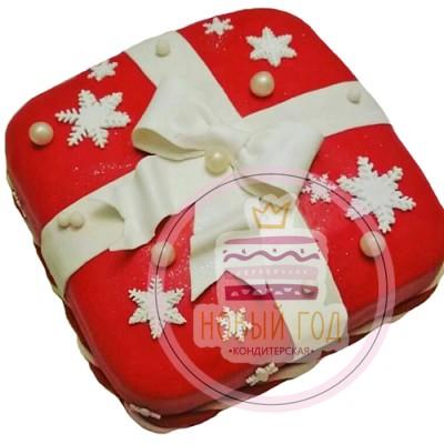 Торт «Новогодний подарок»
