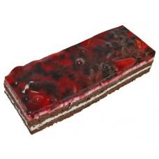 Запуск новой продукции — торт нарезной «Ягодный пломбир».