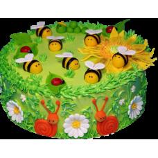 Торт для девочки на 7 лет