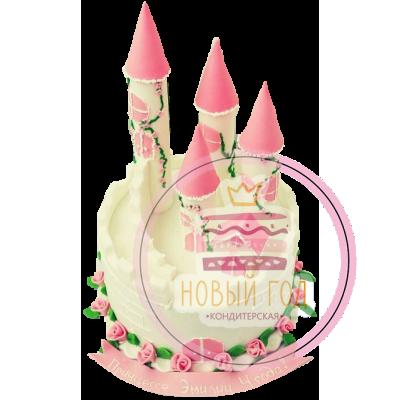 Торт «Замок принцессы»