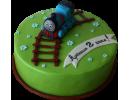 Торт на 2 года с паровозиком