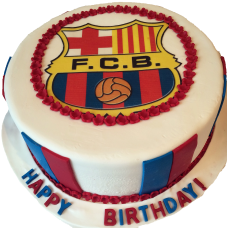 Торт «Футбольный клуб Барселона»