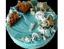 Торт на 1 годик с вафельным рожком