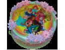 Торт с героинями «Винкс»