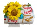 Торт «Подсолнухи»