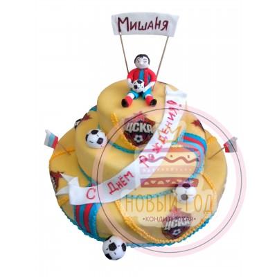 Торт для футбольного фаната